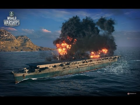 World of Warships авианосец Ranger #wows