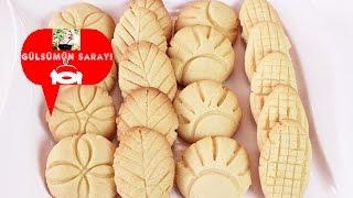 AGIZDA DAGILAN KURABIYELER / Kurabiye tarifi / pastane kurabiywsi /  Gülsümün Sarayi