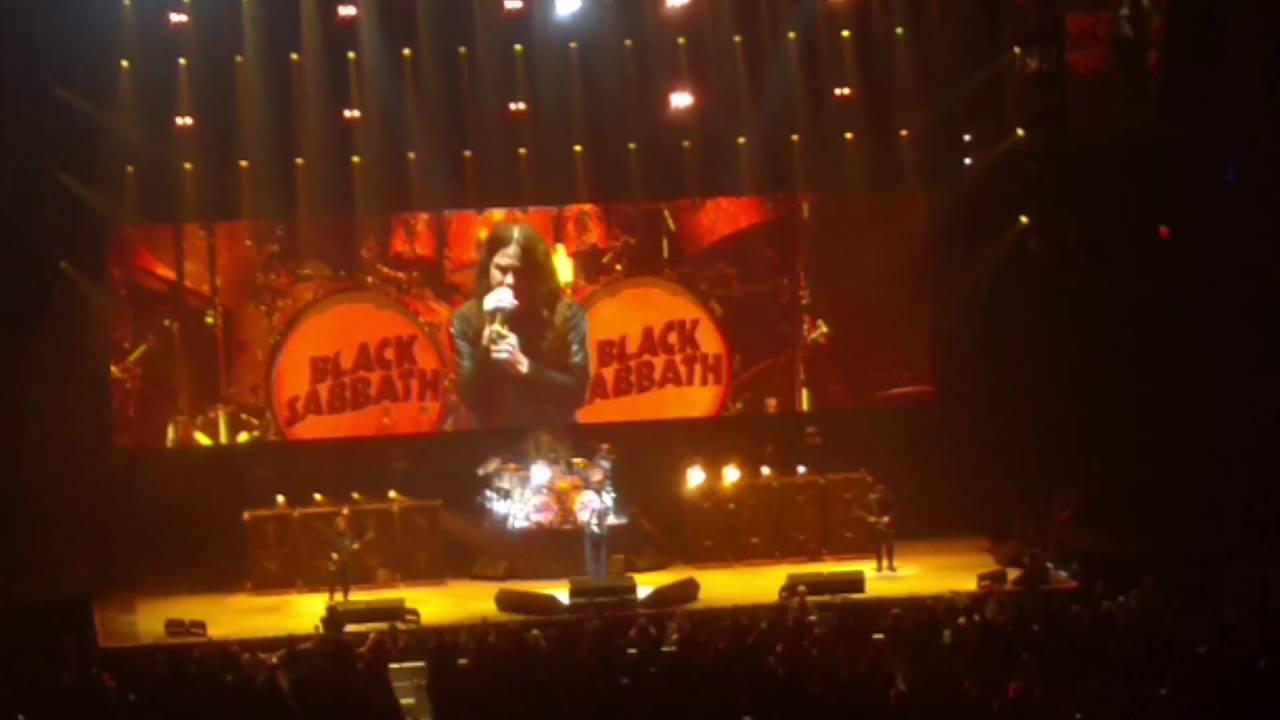 Black Sabbath - Ozzy Osbourne - MGM Garden Arena, Las Vegas - YouTube