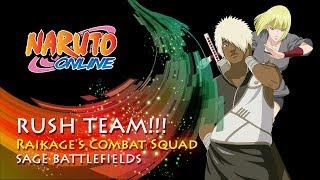 Naruto Online - Rush Team: Raikage's Combat Squad | Sage Battlefields