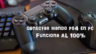 Como conectar mando PS4 en PC FUNCIONA 100%