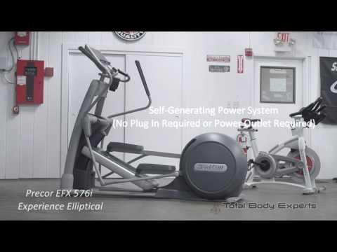 Precor efx 576i elliptical crosstrainer review top fitness review