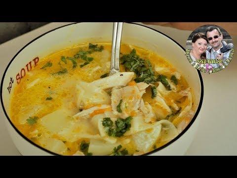 Этот Куриный суп, мы заказывали везде в Болгарии.Невероятно вкусно.