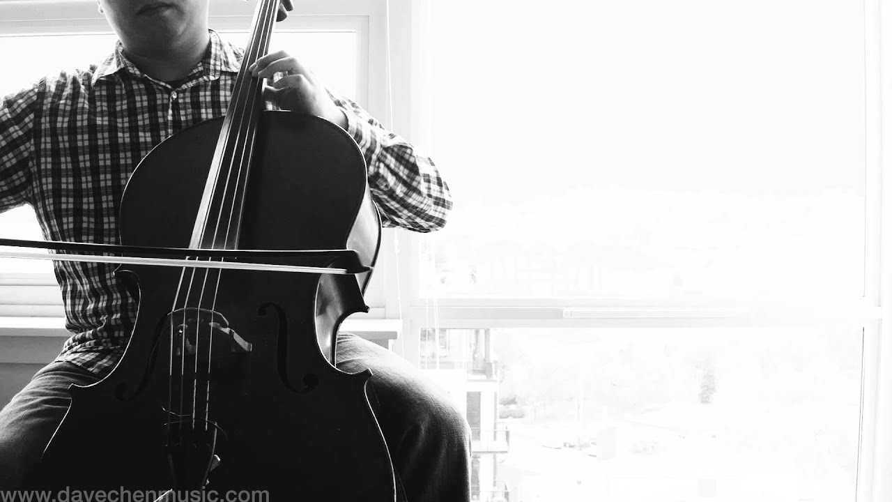 """Download Hans Zimmer's """"Time"""" - Looping cello version from """"Inception"""" performed by David Chen"""