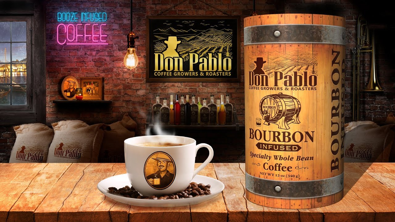 Don Pablo Bourbon Infused Coffee Single Serve Cups // 72 K-Cups video thumbnail