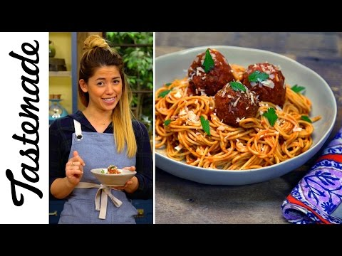 My Ex-boyfriend's Meatless Balls & Spaghetti l The Tastemakers-Molly Yeh