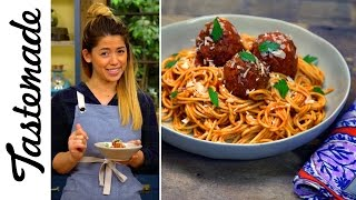 My Ex-boyfriend's Meatless Balls & Spaghetti l The Tastemakers-Molley Yeh