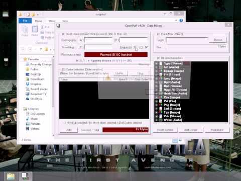 OpenPuff demo