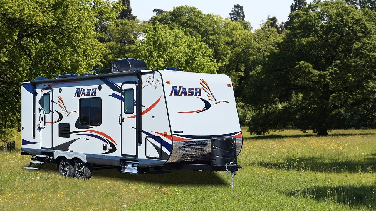 Elegant Quick Tour Of The New Nash 24M Travel Trailer - YouTube