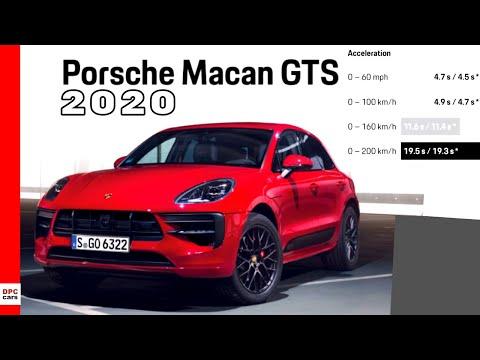 2020 Porsche Macan Gts Preview Youtube