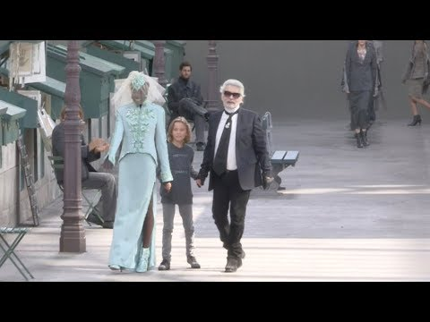 Chanel Haute Couture SS 2019 Finale and Designer salute in Paris