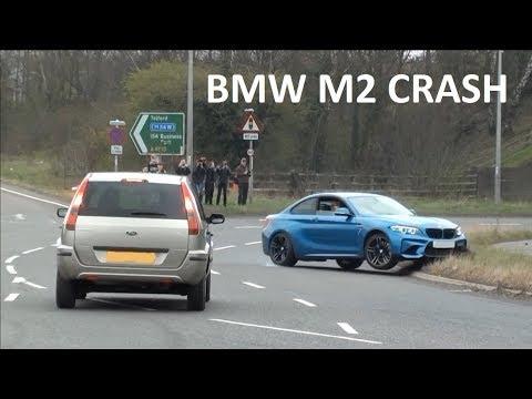 FAIL!! BMW M2 CRASHES AT A CAR SHOW