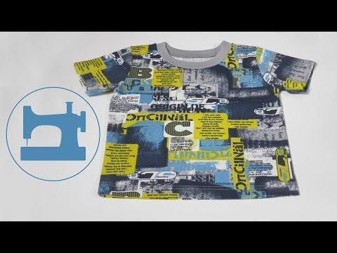 Как сшить 10 футболок за один день для вашего ребенка