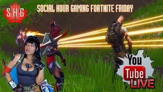 Fortnite BlockBuster Skin - Week 7 Challenges | Social Hour Gaming | SHG_Social | Fortnite Friday