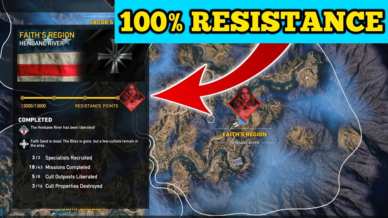 Final Mission In Faith Seeds Region In Far Cry 5 Youtube