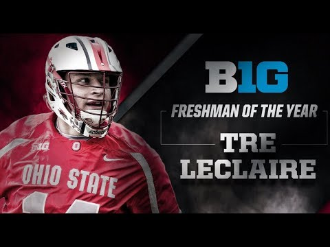 Tre Leclaire Ohio State Lacrosse Highlights