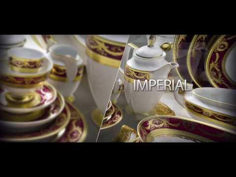 """Порцеланови сервизи за хранене и кафе от колекцията """"Империал"""" на Zepter"""