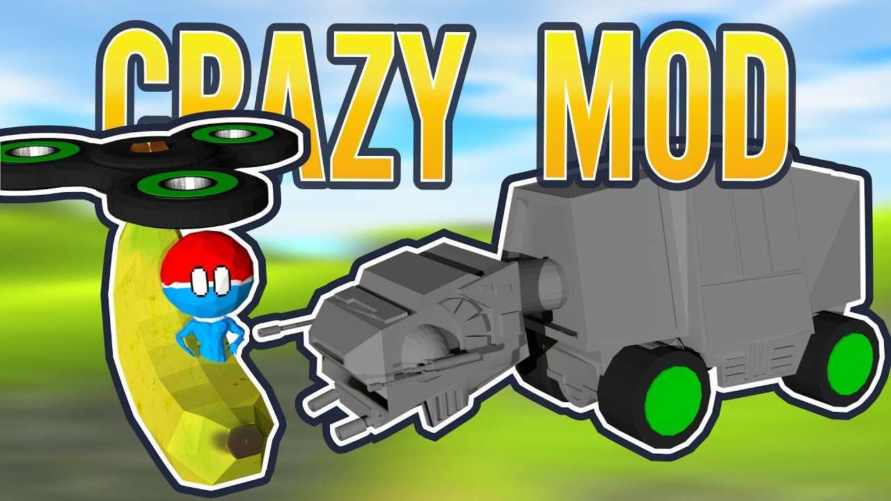 Ravenfield CRAZY COMMUNITY MOD | Banana For Scale, AT-AT, iwanBalls Donkey  Duck and FIDGET SPINNERS by iwanPlays