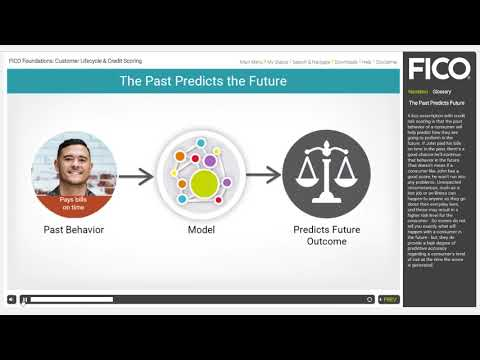FICO Foundations: Customer Lifecycle & Credit Scoring Course