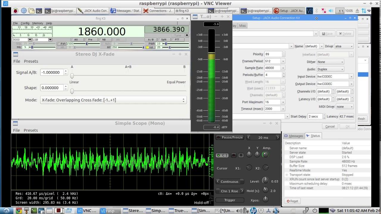 Remote Rig Audio Control Of An Elecraft K3s Using A Raspberry Pi Basic Vox Circuit Controls Ptt Gstreamer Flrig Live Demo
