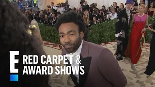 "Donald Glover Talks ""This Is America"" at 2018 Met Gala 