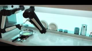 World's First Robotic Kitchen - Animation