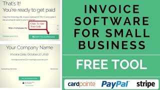 Invoice software for small business - ★free account at: https://www.simplypay.me★ ★★★download★★★ the free templates here: http://bit.ly/2-free-xl-tem...
