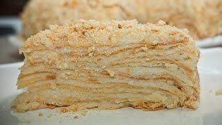 Торт Наполеон (фото рецепт)