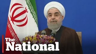 Iran re-elects moderate president