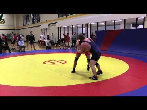 2015 Golden Bear Invitational: 82 kg Logan Burns vs. Steven Sheppard