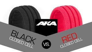 Black Vs Red - AKA Closed Cell Inserts