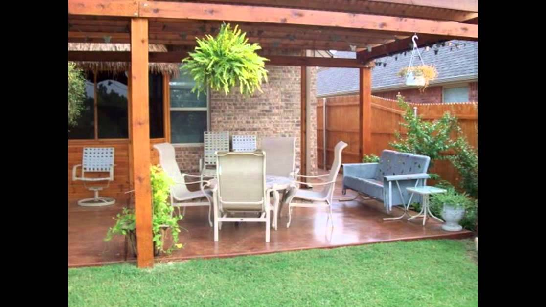 Backyard Patio Ideas | Patio Ideas For Backyard | Small Backyard Patio  Ideas   YouTube