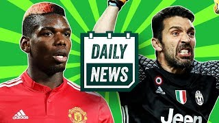 TRANSFER NEWS: Pogba to leave Man United, Buffon to leave Juventus + Mainz VAR madness ► Daily News