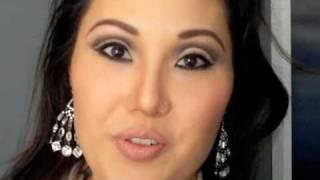 Sexy Modern 1960s Bombshell Makeup Look Thumbnail
