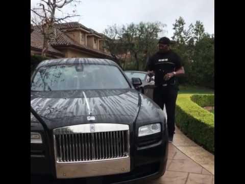 Master P Flaunts His HardTop and DropTop Rolls Royces in Front
