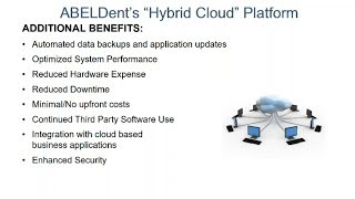 Introducing ABELDent Advantage Cloud: Dental software to protect and grow your practice