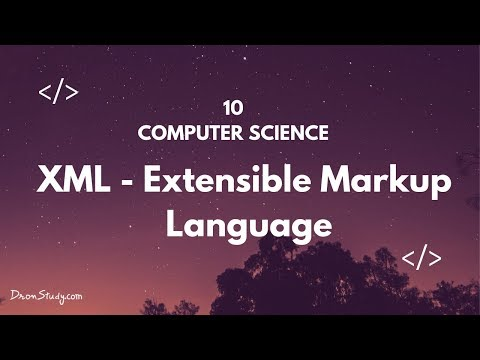Extensible Markup Language (XML) | Class 10 X | Computer Science | Video Lecture in HIndi