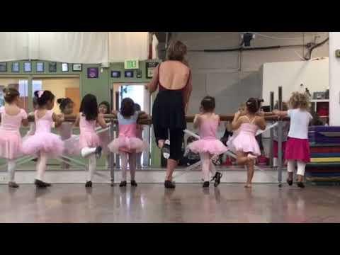 Natalie's first ballet tap dance class