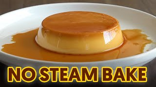 No Steam Easy Flan | No Oven, No Problem