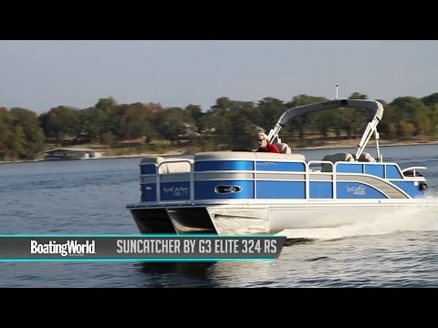 SunCatcher by G3 Elite 324 RS – Boat Test