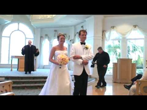 Disney Wedding In The Pavilion At Grand Floridian Resort Spa