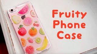 DIY Fruity Phone Case   Resin Craft 
