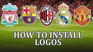 Football Manager 2018 - How to install a logo pack in fm18, get real club logos and badges