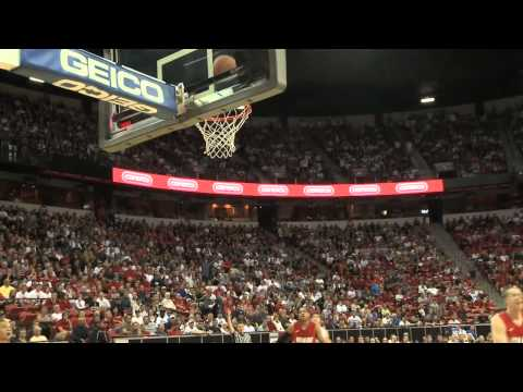Jimmer Nets 52 Against New Mexico in MWC Tourney