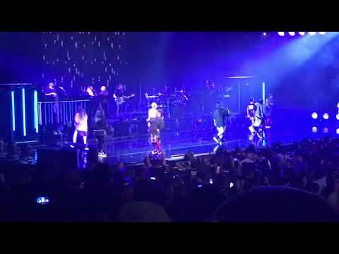 "Janet performs ""No Sleep"" feat J Cole live in Honda Center"