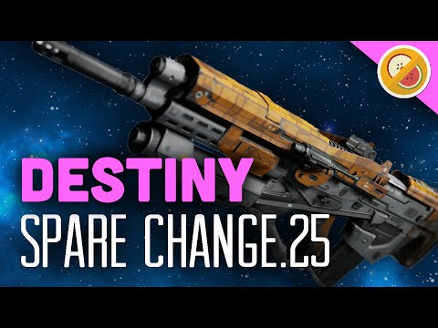 DESTINY Spare Change.25 Legendary Pulse Rifle Review (The Taken King)