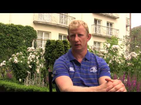 Leo Cullen, Leinster Rugby - pre season training and diet - Wolf Blass Wines