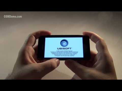 Nokia X7 HD games demo
