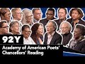 Academy of American Poets' Chancellors' Reading