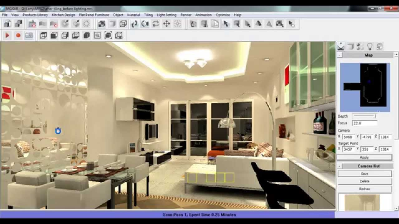 Room Interior Design Software - 3d House Drawing •